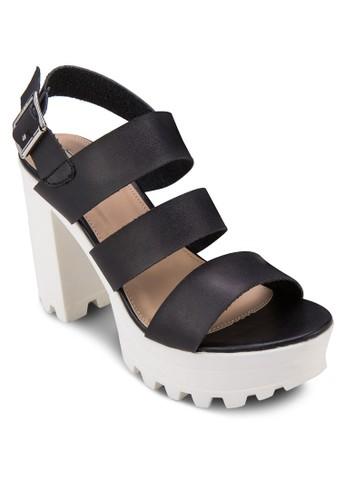 踝帶zalora 包包評價厚底高跟涼鞋, 女鞋, 高跟