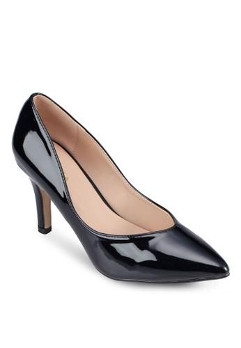 漆皮尖頭高跟鞋,zalora鞋 女鞋, 厚底高跟鞋