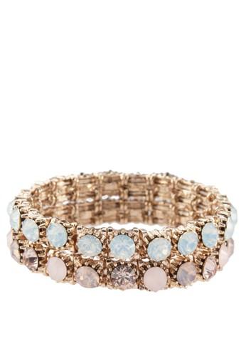 Minzizalora 心得ca 二入閃鑽手環, 飾品配件, 飾品配件