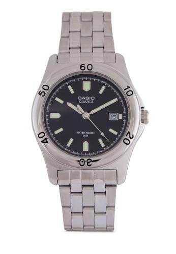 Casio MTP-1213A-1AVzalora 包包 pttD 不銹鋼鍊錶, 錶類, 錶類