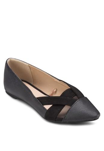 Mzalora 衣服評價aggie Mesh Point Flats, 女鞋, 芭蕾平底鞋