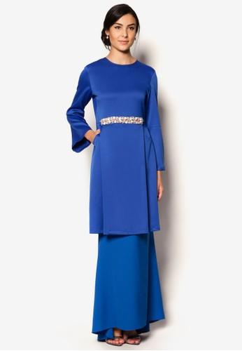 Scha Kurung from S.Baharim by Syaiful Baharim in Blue