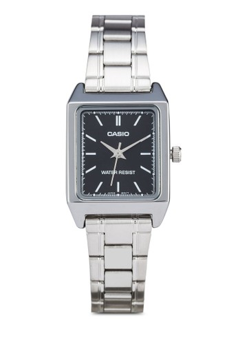 zalora 心得Casio LTP-V007D-1EUDF 方形指針表, 錶類, 飾品配件