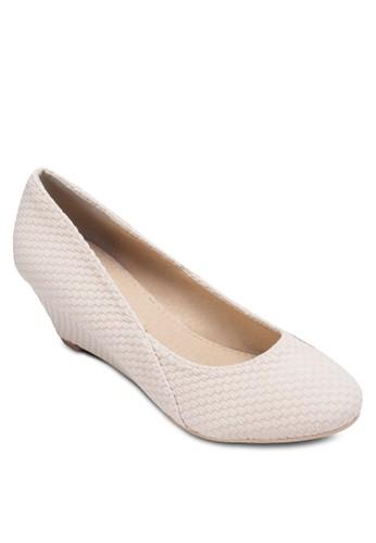 Paige 簡約圓頭楔形zalora鞋鞋, 女鞋, 鞋