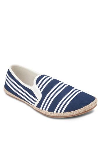 條紋zalora 心得麻編懶人鞋, 鞋, 懶人鞋