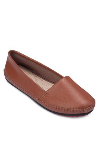 鵝卵紋豆豆鞋, 女鞋zalora 男鞋 評價, 芭蕾平底鞋
