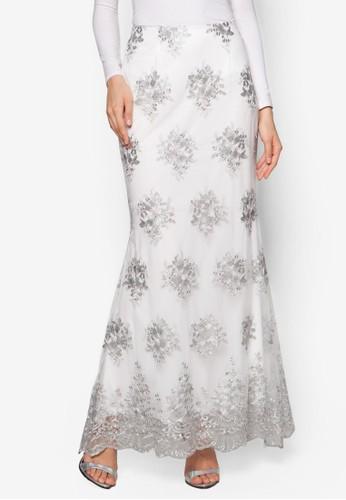 Lace Trumpet Skirt, zalora開箱服飾, 裙子