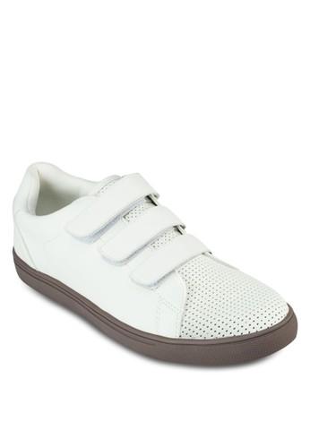 魔術貼沖孔休閒鞋, 鞋zalora 鞋評價, 鞋