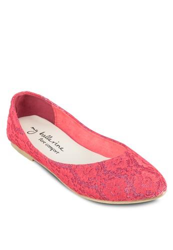 zalora鞋子評價Lilliana 舒適蕾絲平底鞋, 女鞋, 鞋
