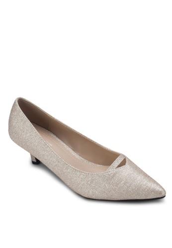 zalora 鞋評價Laney 尖頭低跟鞋, 女鞋, 厚底高跟鞋