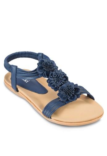 花zalora鞋子評價飾踝帶平底涼鞋, 女鞋, 涼鞋