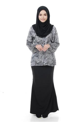 Jacinta Mini Kurung from Aireen in Black