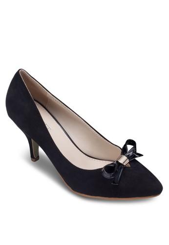 Raelyn 蝴蝶結尖zalora 衣服評價頭高跟鞋, 女鞋, 拖鞋