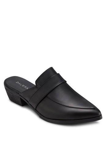 尖頭露跟低zalora 折扣碼跟鞋, 女鞋, 鞋