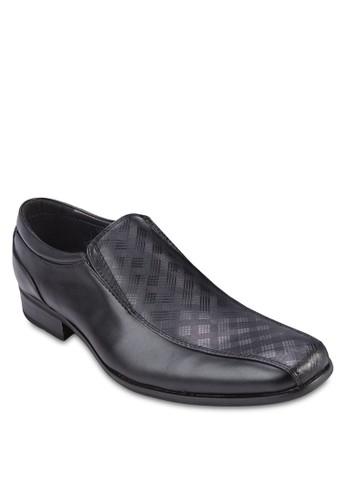 格紋拼接商zalora 手錶 評價務皮鞋, 鞋, 鞋