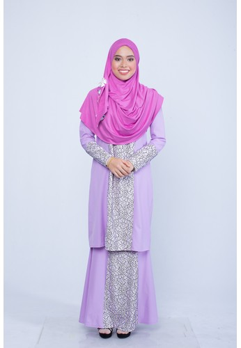 Mini Kurung Dariea from ADAMA COLLECTIONS in Purple