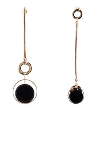 金屬墜飾耳環, 飾品配件,mango taiwan 飾品配件