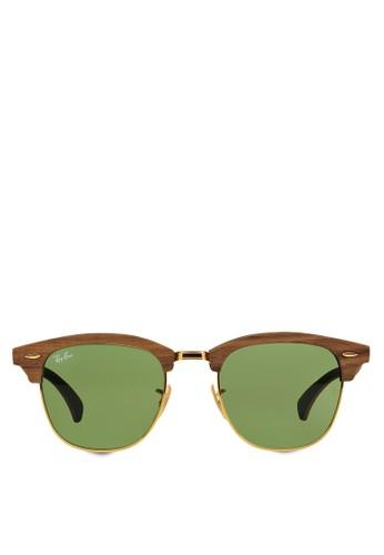 Clubmaszalora 台灣門市ter 木製太陽眼鏡, 飾品配件, 飾品配件