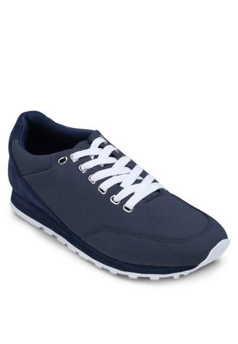 拼接繫帶休閒鞋, 鞋, zalora鞋鞋