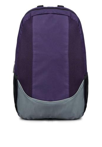 網眼拼接後背包, 包, 飾品配zalora開箱件
