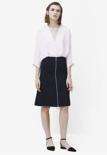 拉鍊鉛筆裙, 服飾, 服zalora鞋子評價飾