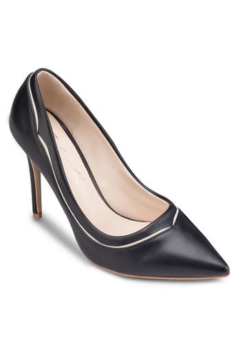拼色尖頭高跟zalora鞋子評價鞋, 女鞋, 厚底高跟鞋