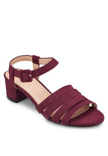 多帶繞踝方根涼鞋, 女鞋zalora 心得, 鞋