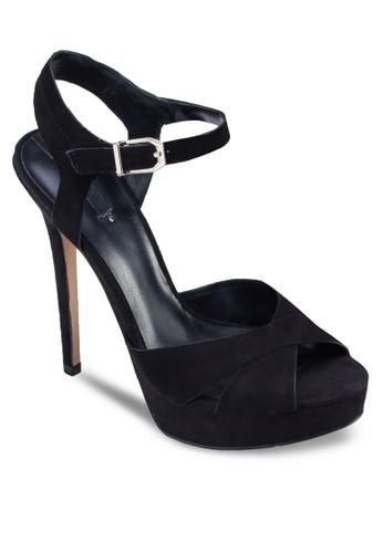 Zaong aldo鞋子踝帶高跟鞋, 女鞋, 鞋