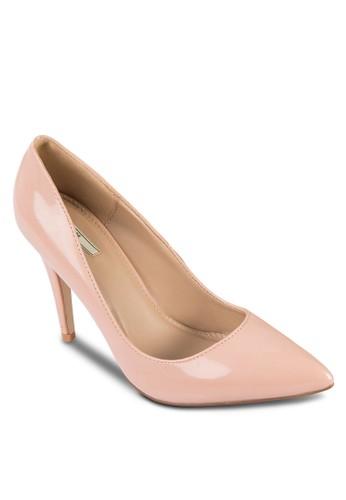 基本款亮面高跟鞋, 女鞋, 厚底zalora 泳衣高跟鞋