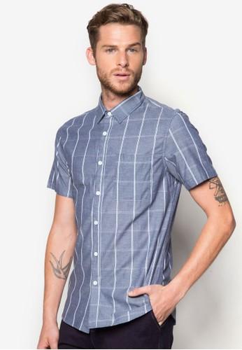 格紋短袖襯衫, 服飾zalora 心得, 印花襯衫