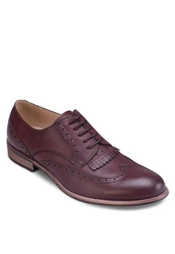 CN- 雕花zalora鞋子評價流蘇孟克鞋, 鞋, 鞋