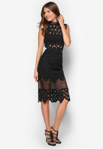 蕾絲無袖洋裝, 服zalora taiwan 時尚購物網鞋子飾, 洋裝
