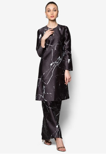 Mampang Kurung from Rizalman for Zalora in Black