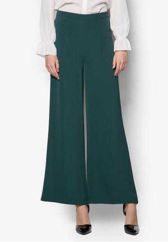 Juzalora taiwan 時尚購物網鞋子les 寬管長褲, 服飾, 長褲及內搭褲