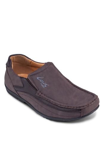 異材質zalora 鞋評價拼接樂福鞋, 鞋, 鞋