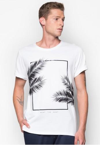 文字zalora 評價圖案Tee, 服飾, 印圖T恤