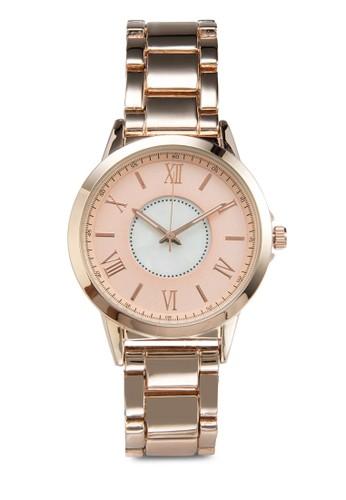 拼色羅馬指針手錶,zalora 台灣門市 錶類, 休閒型