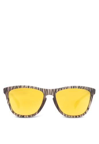 Lifestyle 木紋太陽zalora開箱眼鏡, 飾品配件, 方框