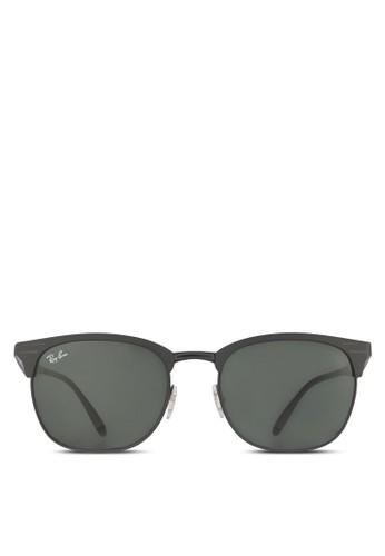 RB3538 太陽眼鏡, 飾品配zalora鞋件, 方框
