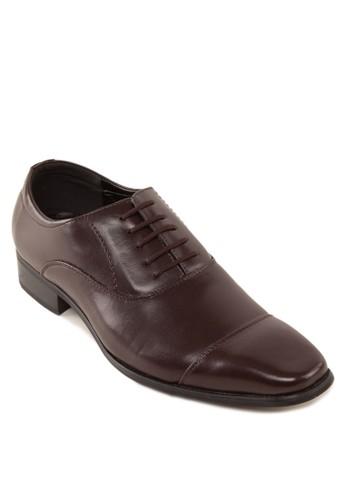 繫帶仿皮方頭牛zalora 男鞋 評價津鞋, 鞋, 皮鞋