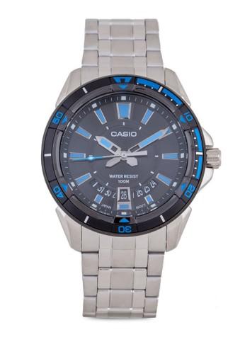 Casio MTD-1066D-1AVDF 指zalora時尚購物網的koumi koumi針錶, 錶類, 錶類