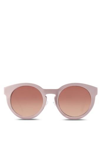 金屬圓框太陽眼zalora 鞋評價鏡, 飾品配件, 飾品配件