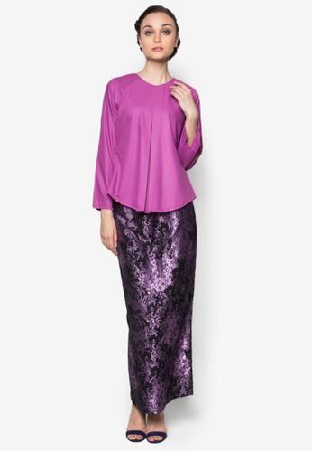 Murni Kurung from Seleksi Akma in Purple