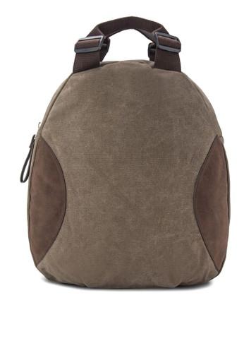 帆布迷你後背包,zalora時尚購物網的koumi koumi 包, 後揹包