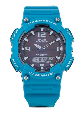 Cazalora 心得sio AQ-S810WC-3AVDF 雙顯多功能手錶, 錶類, 其它錶帶