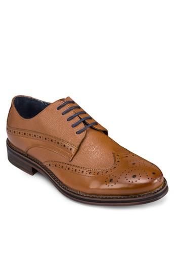 英倫風雕花皮zalora 折扣碼鞋, 鞋, 鞋