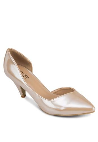 Ezalora 心得liana 側鏤空低根鞋, 女鞋, 鞋
