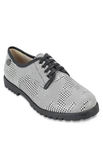 千鳥紋zalora退貨繫帶運動鞋, 女鞋, 鞋