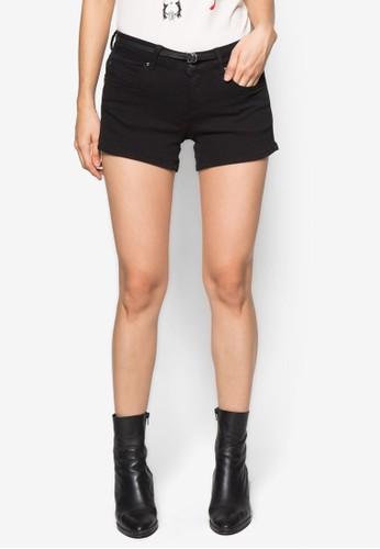 丹寧短褲, 服飾, zalora 折扣碼休閒短褲