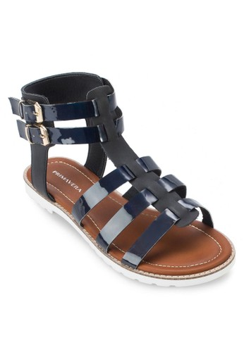 Bizalora 台灣k 羅馬涼鞋, 女鞋, 鞋
